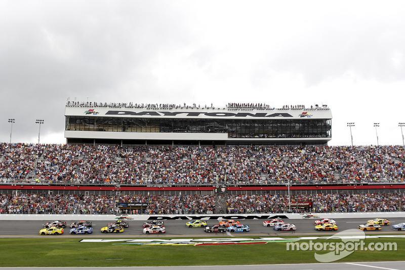 Partenza della 56a Daytona 500