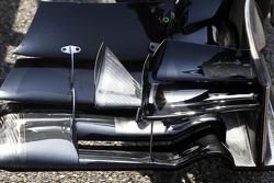 McLaren MP4-29 front wing detail