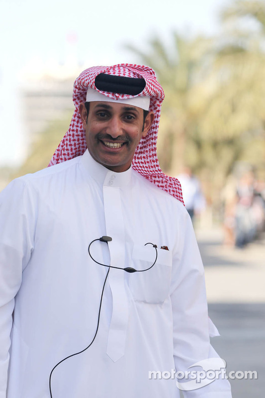 Sheikh Salman bin Isa Al-Khalifa, Chefe executivo do Bahrain International Circuit