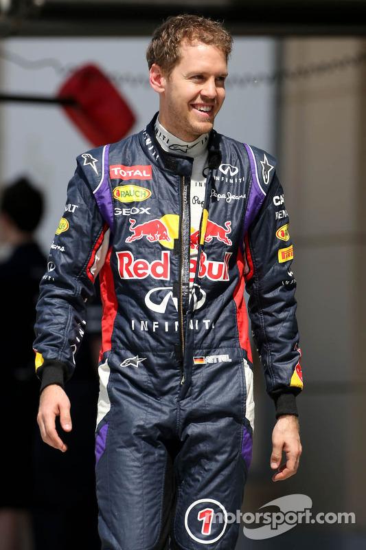 Sebastian Vettel, Red Bull Racing, bleibt stehen