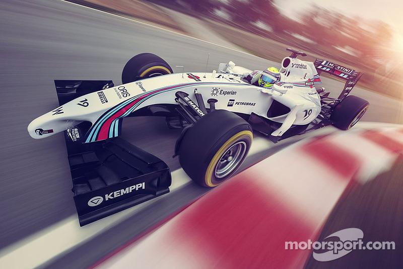 La Williams Martini Racing FW36