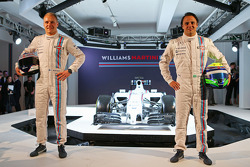 Felipe Massa et Valtteri Bottas, Williams Martini F1 Team
