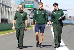Marcus Ericsson, Caterham cammina per il circuito
