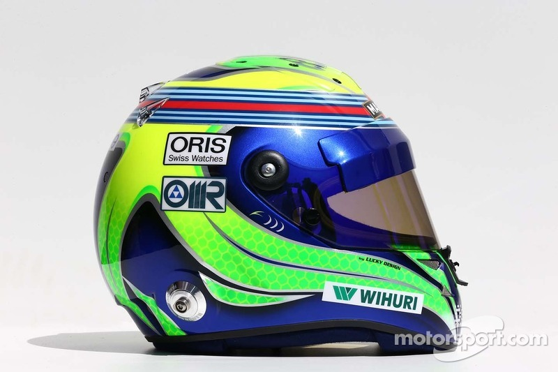 Il casco di Felipe Massa, Williams