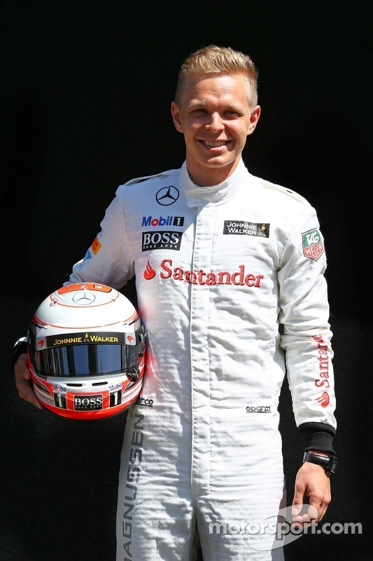 迈凯轮F1车队凯文·马格努森