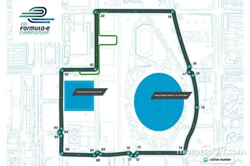 Presentazione prima pista per la Formula E
