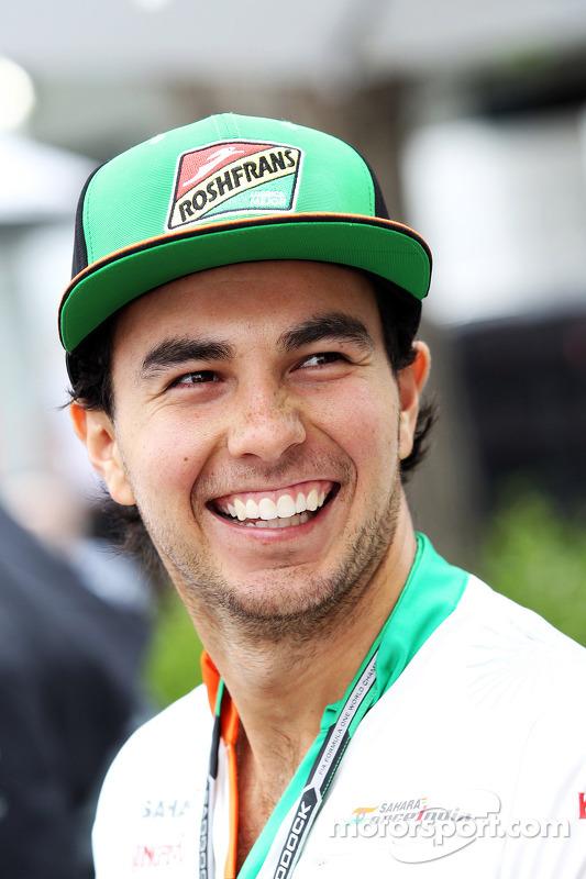 Sergio Pérez, Sahara Force India F1