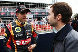 Fahrerparade: Pastor Maldonado, Lotus F1 Team; Nicolas Todt, Fahrermanager