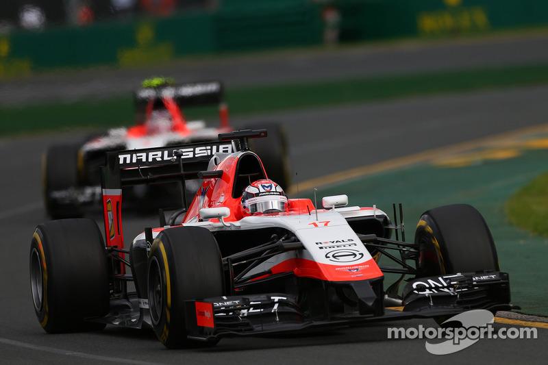 Jules Bianchi, Marussia F1 Takımı MR03 ve Max Chilton, Marussia F1 Takımı MR03