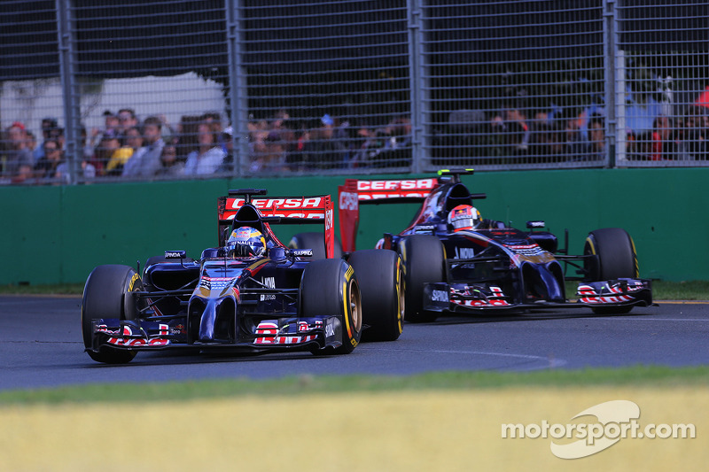Jean-Eric Vergne, Scuderia Toro Rosso e Daniil Kvyat, Scuderia Toro Rosso 16