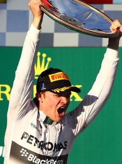 1. sıra Nico Rosberg, Mercedes AMG F1 W05