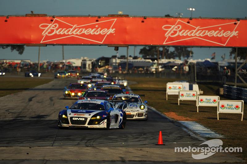 #32 GMG Racing 奥迪 R8 LMS: 詹姆斯·索夫罗纳斯, 阿历克斯·韦尔希, 马克·巴桑