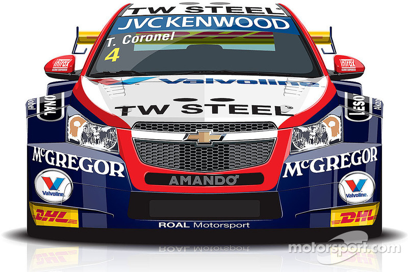 ROAL Motorsport livery