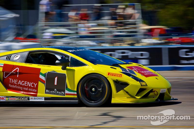 #1 3R Racing Lamborghini Gallardo LP570-4 Super Trofeo: David Calvert-Jones e Blair Chang