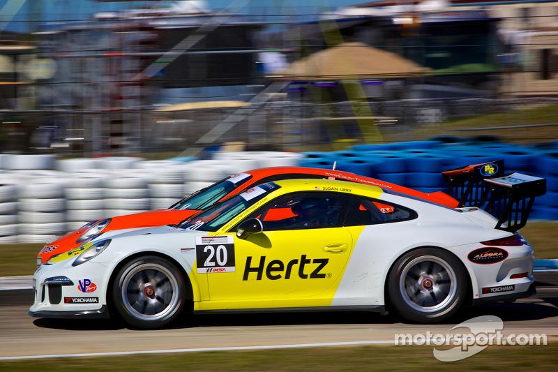 #20 JDX Racing 保时捷 991 GT3 Cup Car: Sloan Urry