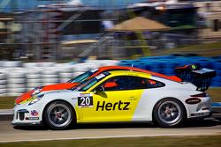 #20 JDX Racing Porsche 991 GT3 Cup Car: Sloan Urry