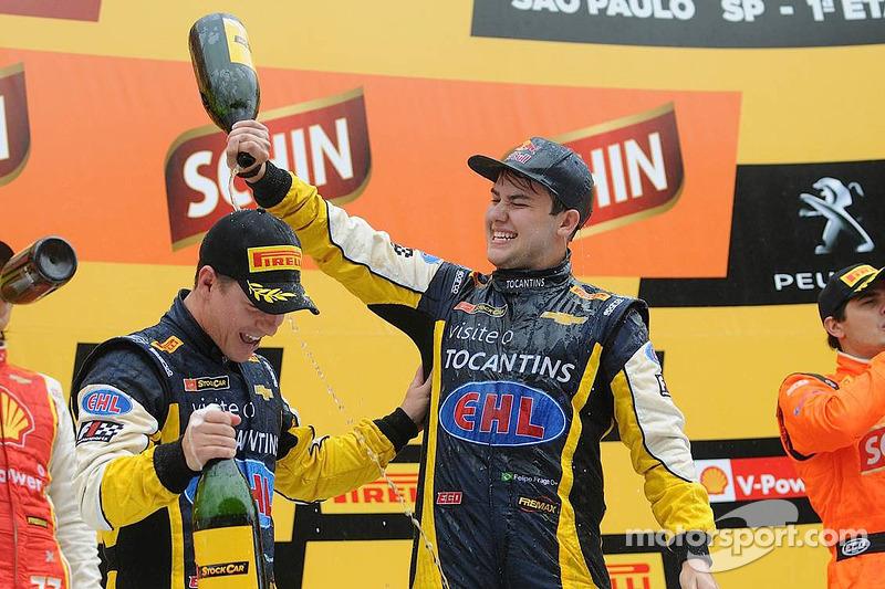 Vincitori Felipe Fraga e Rodrigo Sperafico, Vogel Motorsport Chevrolet