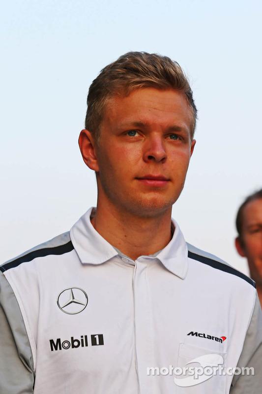 Streckenbegehung: Kevin Magnussen, McLaren