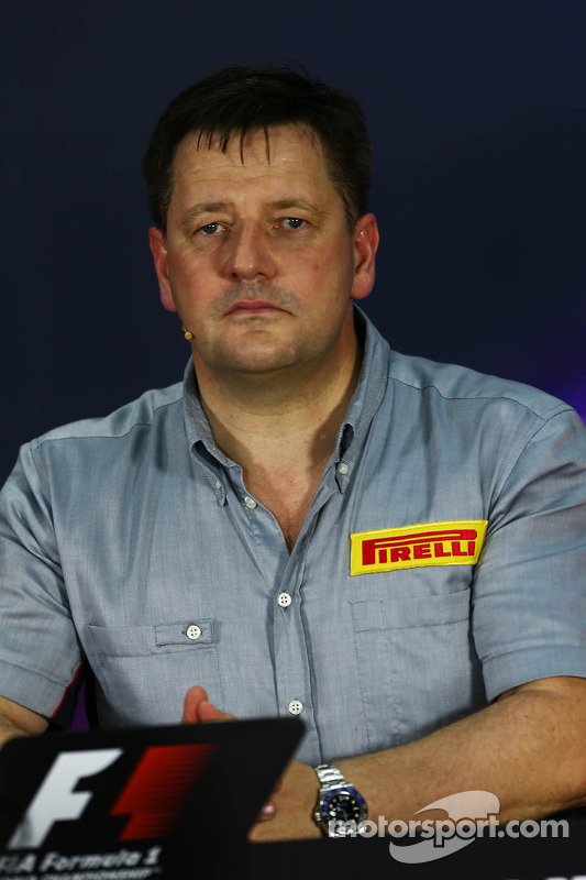 FIA-Pressekonferenz: Paul Hembery, Pirelli, Motorsportdirektor