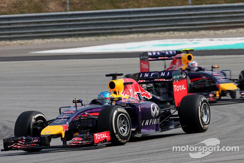 Sebastian Vettel (ALE), Red Bull Racing e Daniel Ricciardo (AUS), Red Bull Racing 30