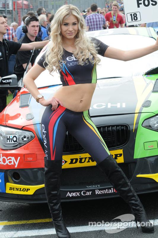 eBay Motors Grid Girl
