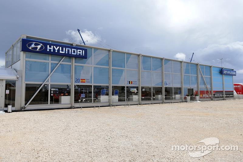 Zona squadra Hyundai