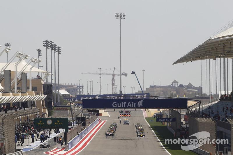 La GP2 Race One, partenza