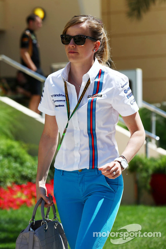 Susie Wolff, Williams