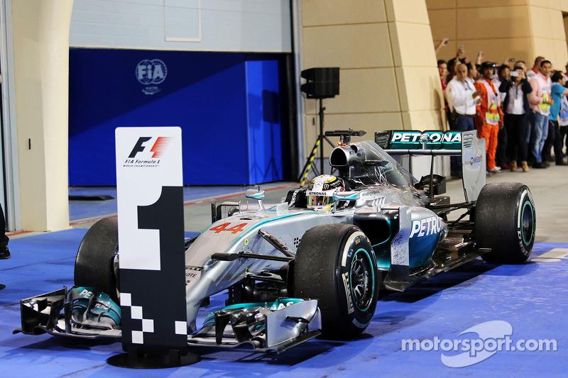 24-Gran Premio de Bahrein 2014. Mercedes