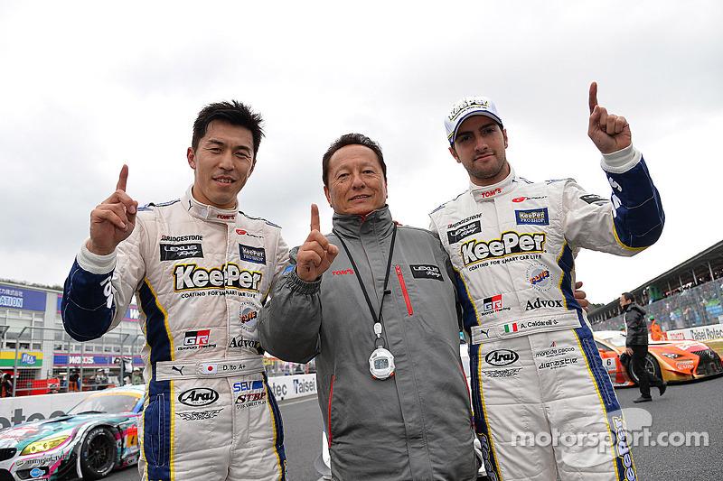 GT500 Kazanan Daizuke Ito ve Andrea Caldarelli