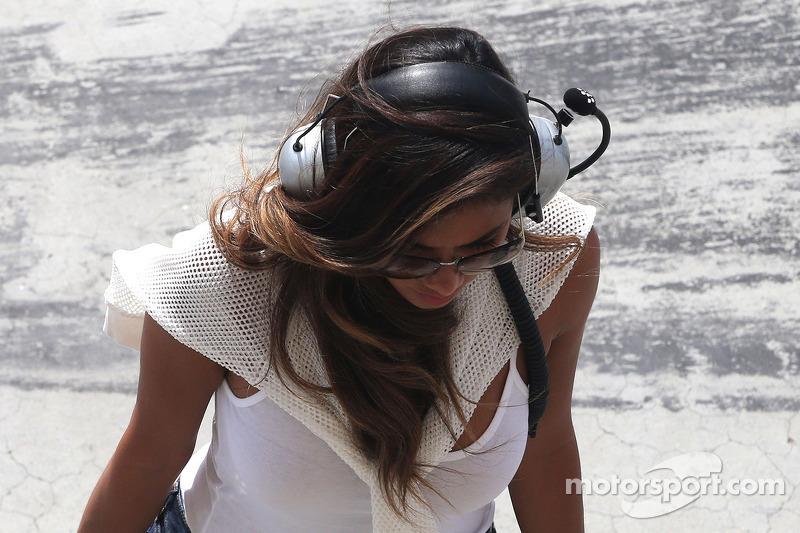 Nicole Scherzinger, Sängerin und Freundin von Lewis Hamilton
