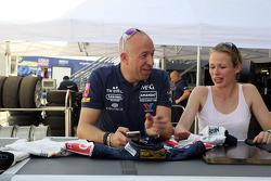 Tom Coronel, Chevrolet RML Cruze TC1, Roal Motorsport y su novia