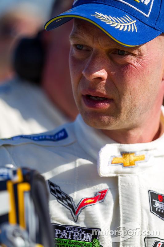 Vencedor da corrida Jan Magnussen
