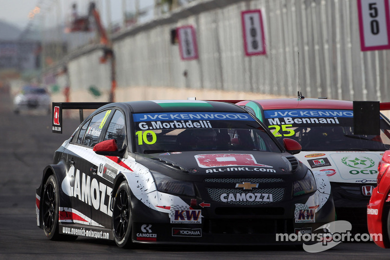 Gianni Morbidelli, Chevrolet RML Cruze TC1, ALL-INKL_COM Munnich Motorsport ve Mehdi Bennani, Honda