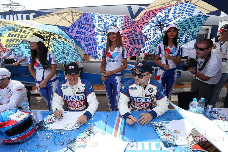 Franz Engstler, 320 TC, Liqui Moly team Engstler e Pasquale Di Sabatino, BMW 320 TC, Liqui Moly team Engstler