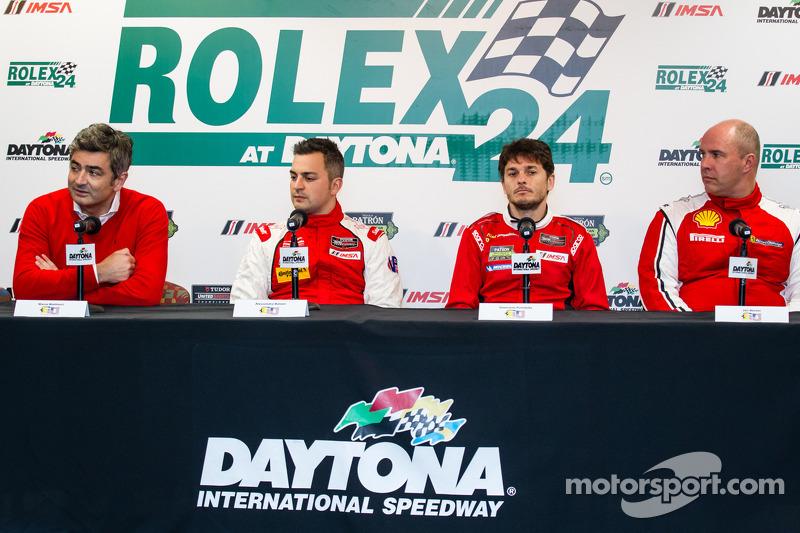 Ferrari North America press conference: President and CEO at Ferrari North America Marco Mattiacci,