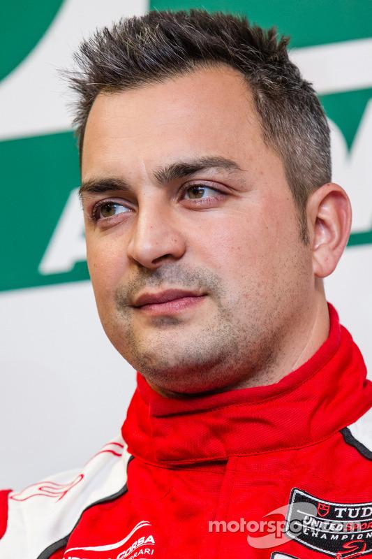 Ferrari North America press conference: Alessandro Balzan