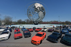Mustang's 50th birthday celebration in New York