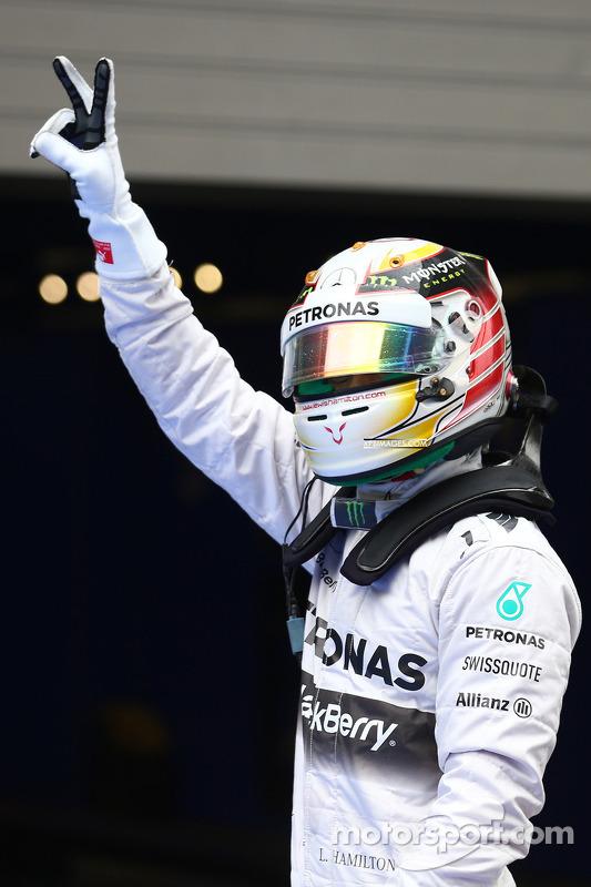 Pole para Lewis Hamilton, Mercedes AMG F1