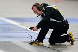 Pirelli-Techniker