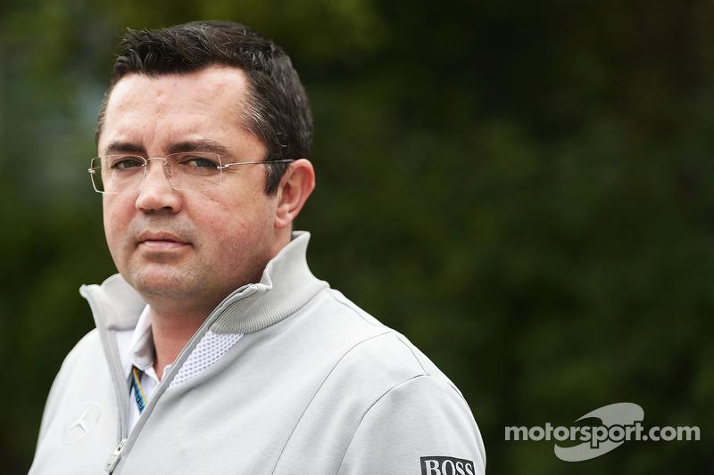Eric Boullier, McLaren Yarış Direktörü.