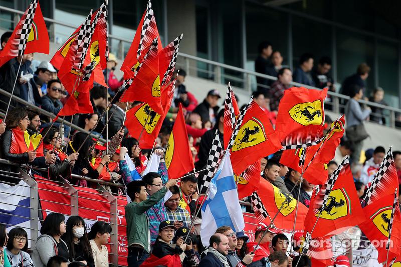 Scuderia Ferrari fãs