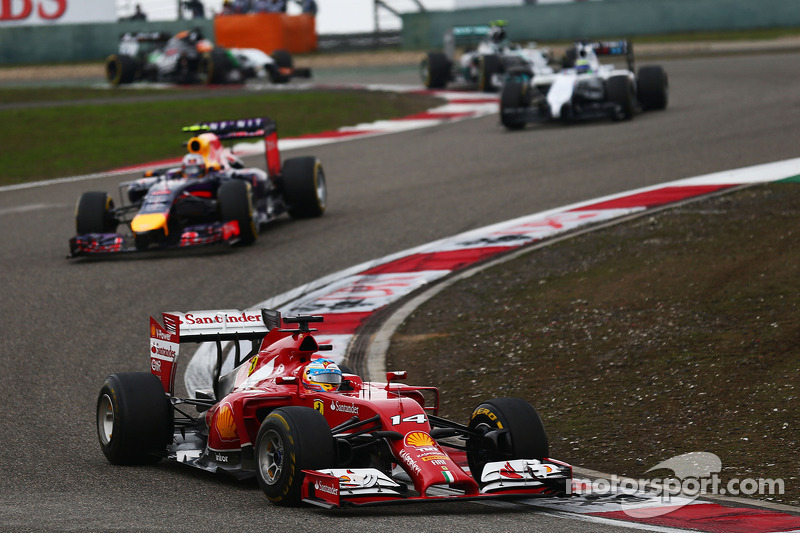 Fernando Alonso, Ferrari F14-T.