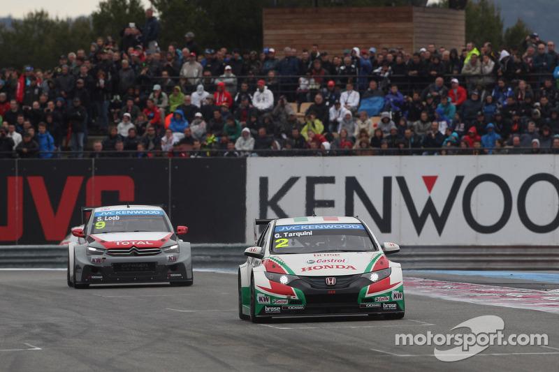 Gabriele Tarquini, Honda Civic WTCC, Castrol Honda WTCC Takımı ve Sébastien Loeb, Citroën C-Elysee W