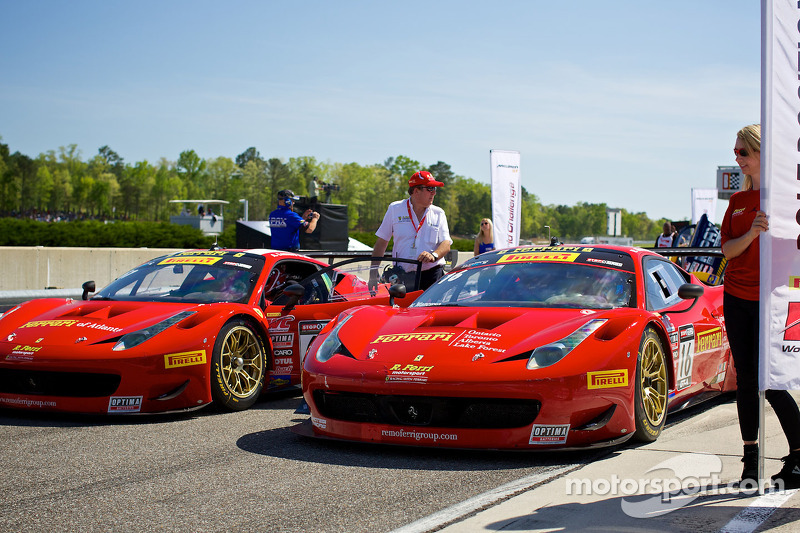 Ferraris ready