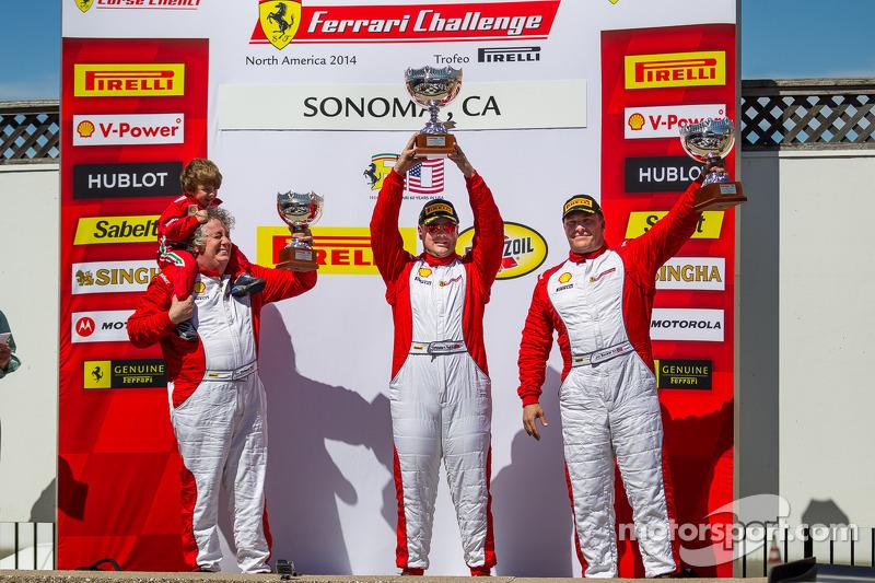 Coppa Shell Podyum: Chris Ruud, Jon Becker, James Weiland