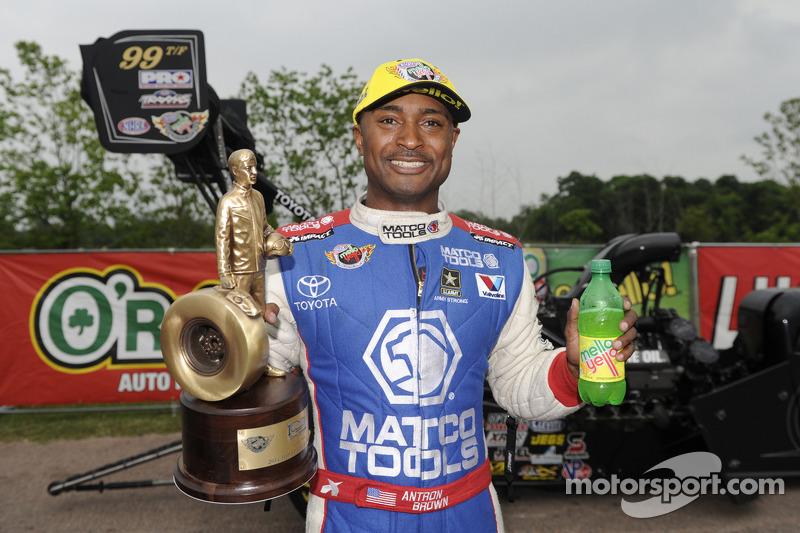 Winner Antron Brown