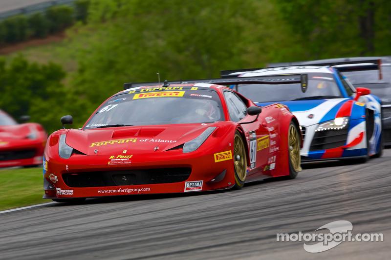 #61 R.Ferri Motorsports 法拉利 458 GT3 Italia: 安东尼·拉扎罗