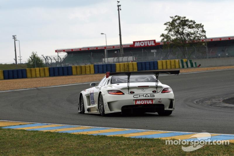 #22 Classic & Modern Racing 梅赛德斯 SLS AMG: Laurent Coubard, 格雷瓜尔·德穆斯捷