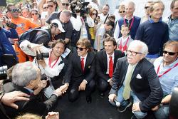 Hommage à Ayrton Senna à Imola